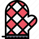 cafe, fast food, food, kitchen, potholder, restaurant icon