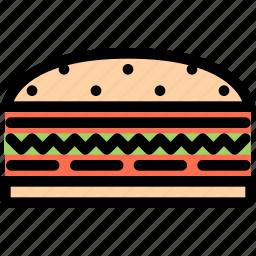 cafe, fast food, food, kitchen, restaurant, sandwich icon