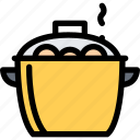 cafe, fast food, food, kitchen, restaurant, saucepan icon