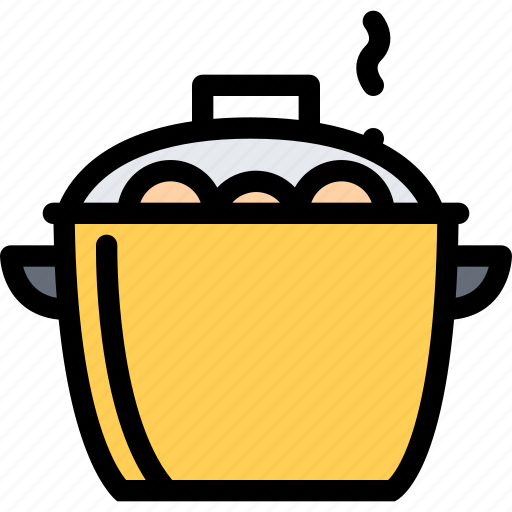 cafe, fast food, food, kitchen, restaurant, saucepan icon