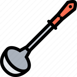 cafe, fast food, food, kitchen, ladle, restaurant, soup icon