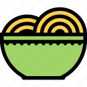 cafe, fast food, food, kitchen, restaurant, spaghetti icon