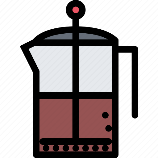 cafe, fast food, food, kitchen, restaurant, teapot icon