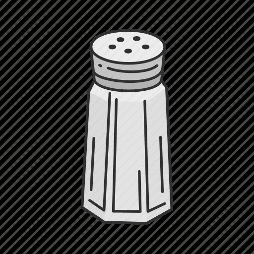 Household, kitchen, pepper, salt, salt cellar, salt shaker, spice icon - Download on Iconfinder