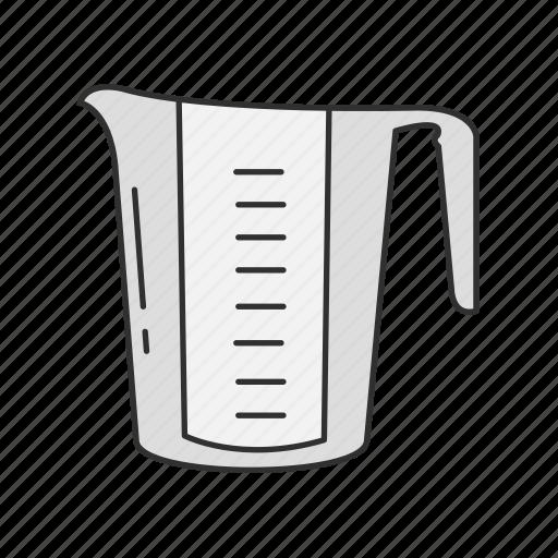Baking measuring, cup, kitchen, measuring cup, measuring jug icon - Download on Iconfinder