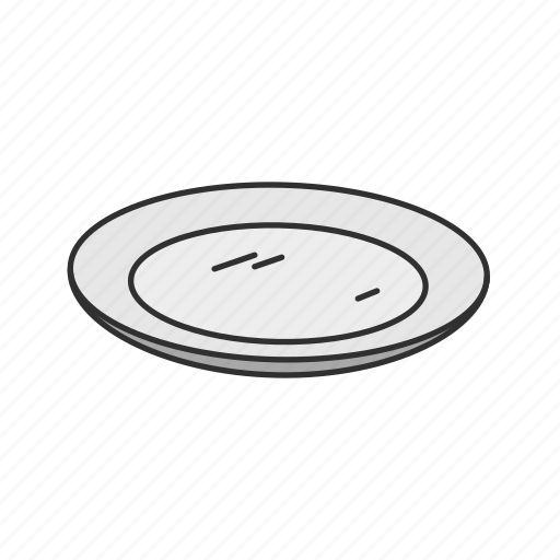 Dish, food, kitchen, meal, plate, platter, porcelain icon - Download on Iconfinder