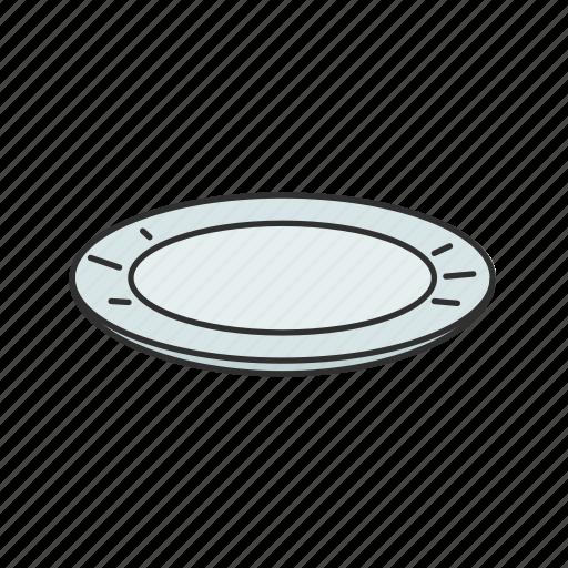 Dish, food, kitchen, meal, plate, platter, porcelain icon - Download on Iconfinder
