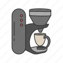 appliances, equipment, kitchen, coffee, coffee machine, coffee maker