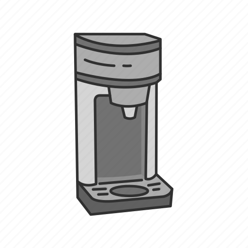 Appliances, equipment, kitchen, coffee, coffee machine, coffee maker icon - Download on Iconfinder