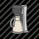 appliances, coffee, coffee machine, coffee maker, equipment, kitchen icon
