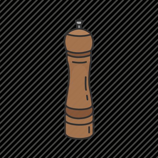 Cooking, grinder, kitchen, pepper, pepper grinder, seasoning, spices icon - Download on Iconfinder