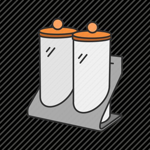 Container, kitchen, rack, seasoning, spice, spice rack, storage icon - Download on Iconfinder