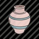 container, furniture, jar, jug, pot, pottery, vase icon