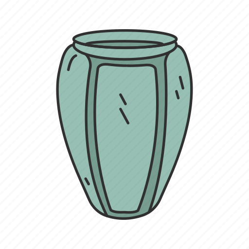 Container, furniture, jar, jug, pot, pottery, vase icon - Download on Iconfinder
