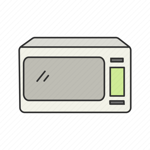 Appliances, cooking, heating, household, kitchen, microwave, oven icon - Download on Iconfinder