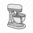 appliances, blender, cooking, household, kitchen, kitchen equipment, mixer icon