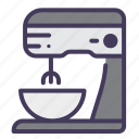 dough, mixer, cooking, kitchen, food, bakery