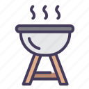 cooking, barbecue, grill, food, meat