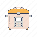 cook, cooking, drink, food, kitchen, rice icon
