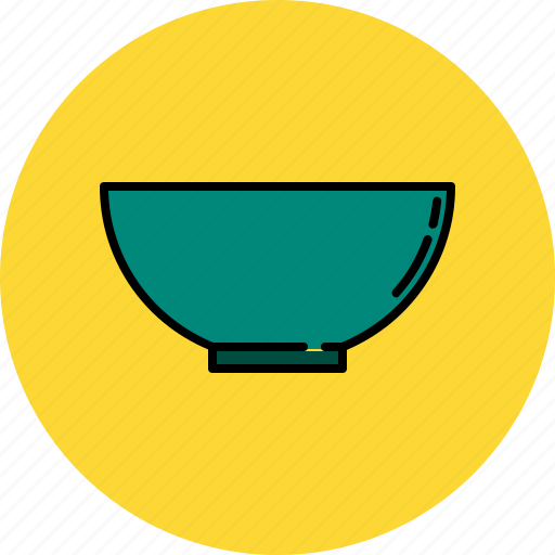 bowl, cooking, equipment, food, kitchen, prepare, tool icon