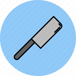 butcher, cooking, equipment, kitchen, knife, tool icon