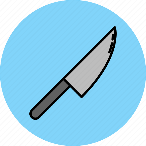 chopping, cooking, equipment, kitchen, knife, tool icon