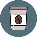 carrier, coffee, drink, hot, paper icon