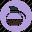 breakfast, coffee, cooking, equipment, kettle, kitchen, tool