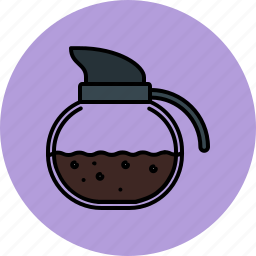 breakfast, coffee, cooking, equipment, kettle, kitchen, tool icon