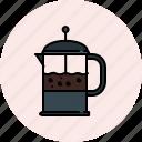 breakfast, coffee, equipment, kitchen, maker