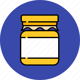 equipment, food, honey, jar, kitchen, sweetener icon