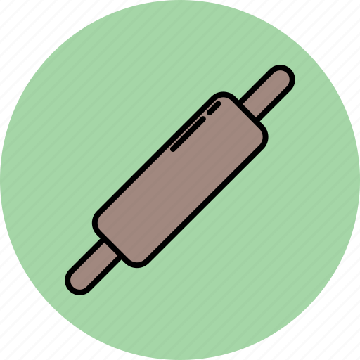 cooking, equipment, kitchen, pin, rolling, tool icon