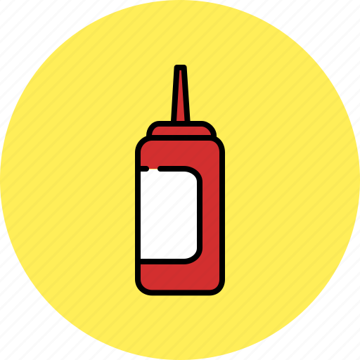 container, equipment, ketchup, kitchen, mustard, sauce icon