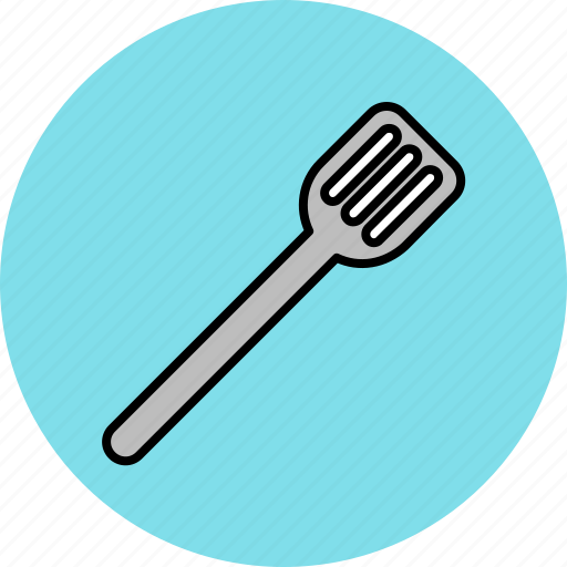 cooking, equipment, kitchen, spatchula, tool icon
