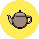 drink, hot, kettle, kitchen, tea icon