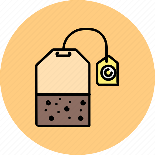 bag, drink, equipment, kitchen, taste, tea icon