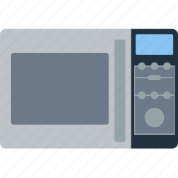 appliance, electrical, equipment, kitchen, microwave, oven, wave icon