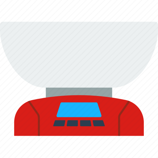 appliance, digital, electrical, equipment, kitchen, scales, weight icon