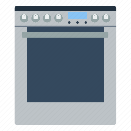 appliance, cooker, electrical, equipment, kitchen, oven, stove icon