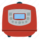 appliance, cooker, electrical, equipment, kitchen, multicooker, steamer icon