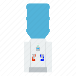 appliance, cooler, dispenser, electrical, equipment, heater, kitchen icon