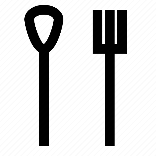 cook, eat, fork, spoon icon