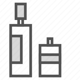 big, bottle, container, small icon