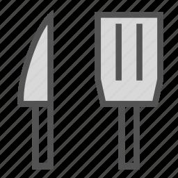 knife, pallet, tool, turner icon