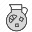 container, drink, juice, lemonade icon