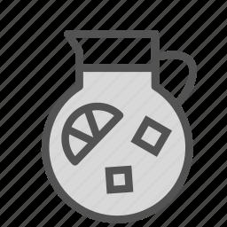 container, drink, juice, lemonade icon