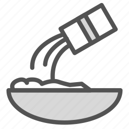 bowl, can, container, food, mixing icon