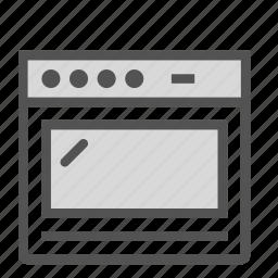 equipment, oven, stove icon