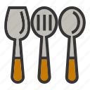 cook, cooking, kitchen, meal, restaurant, spatula icon