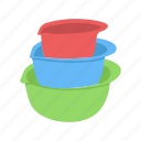 bowl, container, food, food bowl, kitchen, utensil icon
